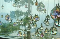 Some of the million Swarovski crystals at Sparkling Hill resort in Vernon, B. Vernon Bc, 3 Things, Little Sisters, Hotels And Resorts, Swarovski Crystals, Places To Go, Sparkle, Explore