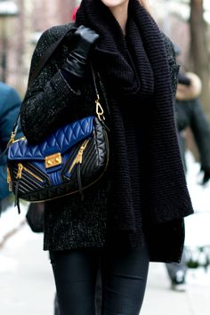 Best Street Style Shoes and Bags NY Fashion Week Fall 2014 ---- Get Up  Close With Street Style s Best Accessories     Well, this little Miu Miu  successfully ... bc1ee1c926