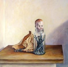 The Anxious Boy. Everyday Objects, Contemporary, Modern, Make Me Smile, Still Life, Meditation, In This Moment, Anxious, Artist