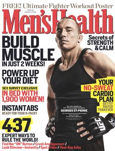 April 2011  Cover guy: Georges St.-Pierre