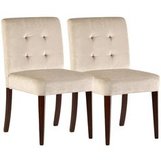 I pinned this Hadley Dining Chair in Beige (Set of 2) from the Bombay Company event at Joss and Main!