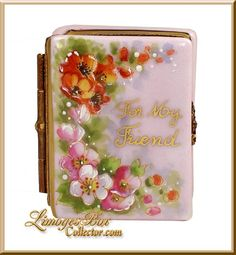 For My Friend Book Limoges Box (Beauchamp)