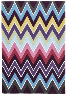 Eclectic Chevron Floor Rug Multi Coloured Available At Kids Mega Mart Online Australia