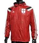 For Sale - New Adidas AC Milan Anthem Wind Jacket Mens Lightweight Hooded - Red - See More at http://sprtz.us/ACMilanEBay