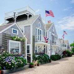 An all-American moment on Nantucket.