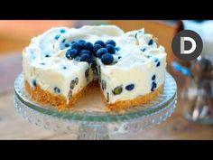 Donal's blueberry and white chocolate cheesecake recipe - IrishCentral.com