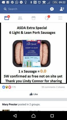 Asda Slimming World, Slimming Workd, Slimming World Free Foods, Slimming World Dinners, Healthy Habits, Get Healthy, Healthy Food, Healthy Eating, Slimming World Survival