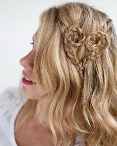 Sweet, Sexy Valentine's Hairstyles