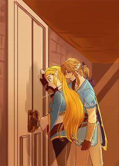 Hyrule Warriors Link, Image Zelda, Video Game Companies, Link Art, Female Reference, Legend Of Zelda Breath, Link Zelda, Breath Of The Wild, Anime Couples