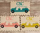 """Congratulations to the beautiful bride and groom Caroline and Chris!  Wedding cookies of the famous open-air """"Jolly's"""" at the Rosewood Miramar Beach Hotel in Montecito @cmomo11 @wides6 #ctcookietreats #customcookies #wedding #miramar @rosewoodmiramarbeach Miramar Beach Hotels, Wedding Cookies, Custom Cookies, Beautiful Bride, Sugar Cookies, Icing, Congratulations, Groom, Treats"""