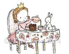 La princesa y el guisante  archivo lámina infantiles