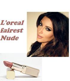 L'Oreal Paris Colour Riche Lipstick in fairest nude <3