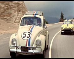"""Herbie the Luv Bug/Remember slugging the person next to you on the arm and hollering """"SLUG BUG"""" everytime you seen one."""