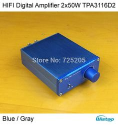 Find More Amplifier Information about HIFI Digital Amplifier 2.1 2x50W TPA3116D2  No including Power Adapter Aluminum Casing Silver White Free Shipping,High Quality amplifier transformer,China amplifier hifi Suppliers, Cheap amplifier pioneer from WISTAO HIFI BLUETOOTH AUDIO & 3C MALL on Aliexpress.com