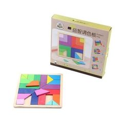 Board Games Toys Tangram Wooden Jigsaw Puzzle Metal Puzzle Products Fidget Cube Diamond Mosaic Educational Toys 70B251