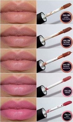 NYX Soft Matte Lip Cream, Stockholm, London, Abu Dhabi - Nude Collection 1