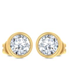 Miracle Solitaire Earring Diamond Solitaire Earrings, Exotic, Jewels, Engagement Rings, Enagement Rings, Wedding Rings, Jewerly, Diamond Engagement Rings, Gemstones
