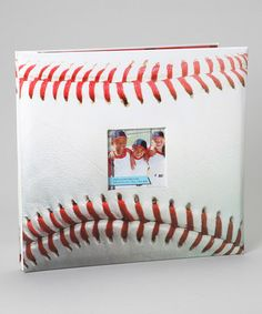 Take a look at this Large Baseball Scrapbook by Cricut on #zulily today!