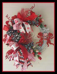 Valentine's cupids on Grapevine DDL Designs  http://www.facebook.com/ddldesigns
