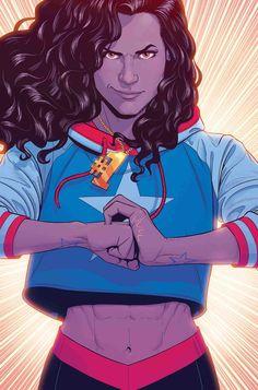 MISS AMERICA by Jamie McKelvie - Visit to grab an amazing super hero shirt now on sale!
