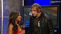 Ik he probably sees Roman just waiting there. and that dance though<3<3<3<3<3<3<3<3<3