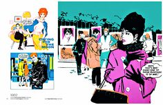 Lifestyle Illustrations of the 60s: Rian Hughes, David Roach: 9781783130061: Amazon.com: Books