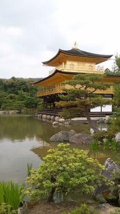 kyoto , zlaty pavilon