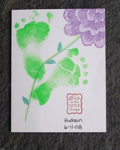 Footprint flowers