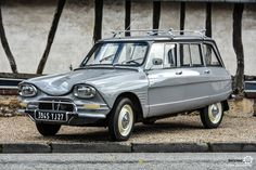 #Citroën #Ami au rassemblement du Printemps d'Acquigny Reportage : http://newsdanciennes.com/2016/03/29/rassemblement-printemps-dacquigny/ #Voiture #Ancienne #ClassicCars
