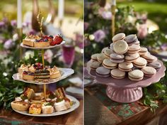 Wedding Inspiration Feature – Luxe Boho Meets Soft Lavender. Sweet table wedding inspiration. http://www.theweddingguru.ca/wedding-inspiration-feature-luxe-boho-meets-soft-lavender/ #sweettable
