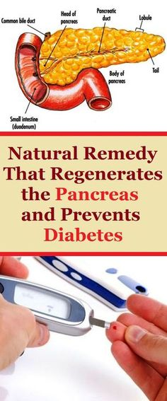Natural Remedy That Regenerates the Pancreas and Prevents Diabetes
