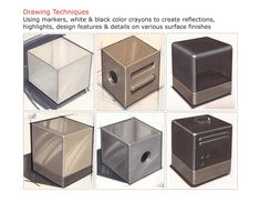 cube sketches - Google Search
