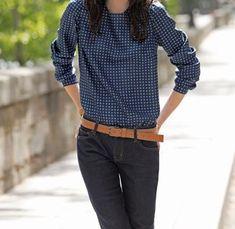 Une blouse, 3 looks