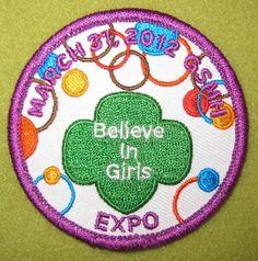 Girl Scouts 100th Anniversary Missouri Heartland - B.I.G. Expo. Thank you, Cath!
