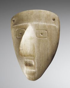 SULTEPEC TECALI ANTHROPOMORPHIC MASK, MEXICO [Cross posted from Native American Art & Culture]