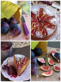 Moelleux provençal à la figue, amande et fleur d'oranger (Sans lait, IG bas )