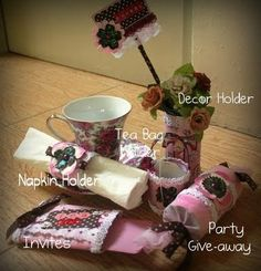 TP Tubes: Tea caddy, Invitation, Party Krackers, Napkin Rings, & Tube Containers