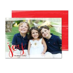 Send love and joy this holiday season with our personalized holiday cards!