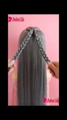 Easy Hairstyle, Diy Hairstyles, Pretty Hairstyles, Popular Hairstyles, Tik Tok, Natural Hair Styles, Curly Hair Styles, Hair Due, Shoe Tieing