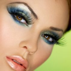 Gorgeous make-up (eyes and lips)