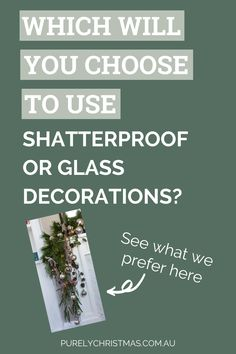 Here we share our tips for choosing to decorate your Christmas tree with either glass or shatterproof decorations. There are both positives and negatives for choosing either, and we chat about some of them in this blog. Read the short easy to read blog here. Hygge Christmas, Scandi Christmas, What Is Christmas, Christmas Items, Christmas Home, Christmas Tree Decorations, Christmas Lights, Christmas Ornaments, Australian Christmas