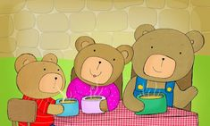 goudlokje en de 3 beren liedje - Google zoeken