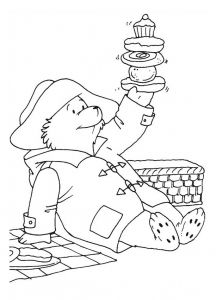 Coloring Page Paddington Bear To Print For Free Bear Coloring
