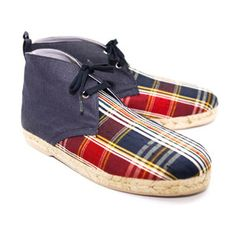 Lille Espadrille Men's Madras now featured on Fab.