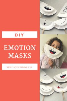 Reading Expressions with DIY Emotion Masks - Play Inspired Mum Social Emotional Activities, Feelings Activities, Preschool Learning Activities, Preschool Activities, Teaching Kids, Kids Learning, Emotions Preschool, Teaching Emotions, Feelings And Emotions