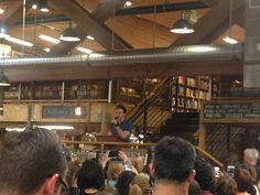 Elliot Bay Bookstore in Seattle :) #TLOS4 7/16/15