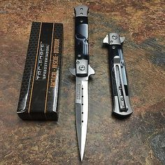 TAC FORCE Spring Assisted Punisher Skull Milanos Style folding Pocket Knife