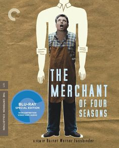 The Merchant of Four Seasons - Blu-Ray (Criterion Region A) Release Date: May 26, 2015 (Amazon U.S.)