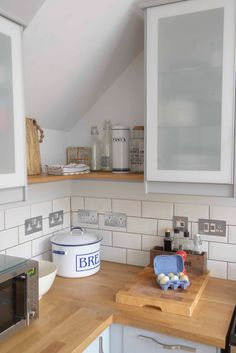 Ikea Veddinge grey kitchen featured in Your Home magazine. Photos by Photoword