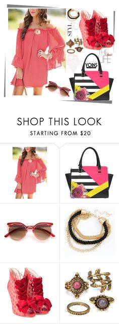 """Yoins-17"" by autumn-soul ❤ liked on Polyvore featuring Sophia Webster, yoins, yoinscollection and loveyoins"
